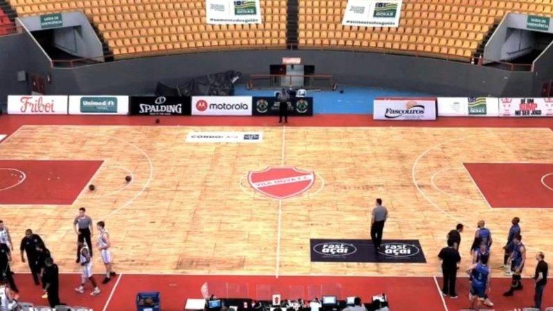 Ginásio Rio Vermelho, em Goiânia, sede do Botafogo no Campeonato Brasileiro de Basquete