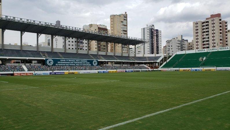 Estádio Hailé Pinheiro (Serrinha), palco de Goiás x Botafogo