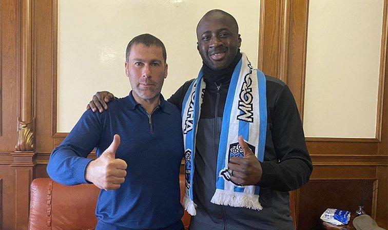 Yaya Touré encerra carreira e vira auxiliar técnico no Olimpik Donetsk, da Ucrânia