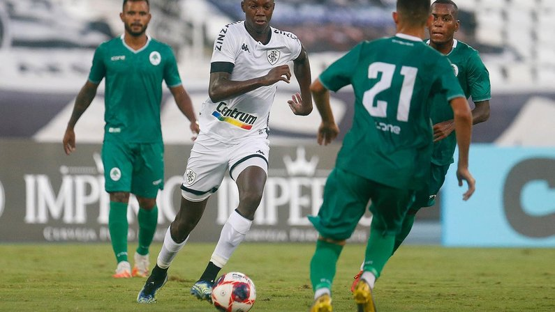 Matheus Babi em Botafogo x Boavista pelo Campeonato Carioca