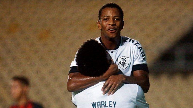 Ênio e Warley em Moto Club x Botafogo | Copa do Brasil 2021