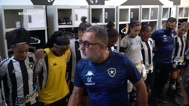 Gláucio Carvalho - Botafogo x Fluminense - Final do Campeonato Carioca Feminino