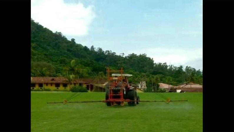 Campo do novo CT do Botafogo