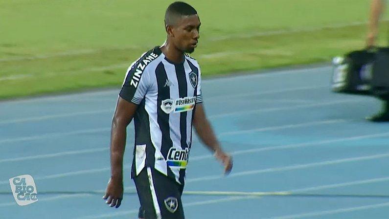 Kanu expulso a caminho do vestiário em Botafogo x Flamengo | Campeonato Carioca 2021