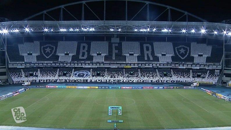 Estádio Nilton Santos - Botafogo x Resende - Campeonato Carioca 2021