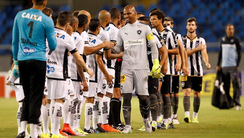 Botafogo só tinha dois pontos a mais na 26ª rodada de 2015