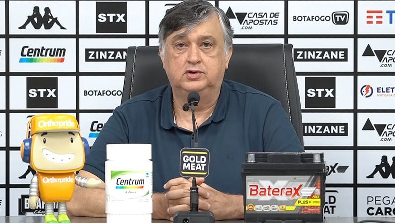 Durcesio Mello, presidente do Botafogo, encaminha ofício para Botafogo S/A
