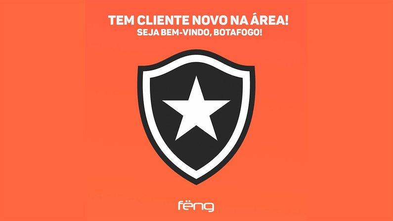 Feng anuncia parceria com o Botafogo