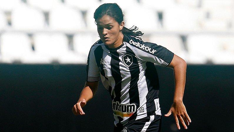 Gaby Louvain em Botafogo x Pérolas Negras  | Campeonato Carioca Feminino 2021