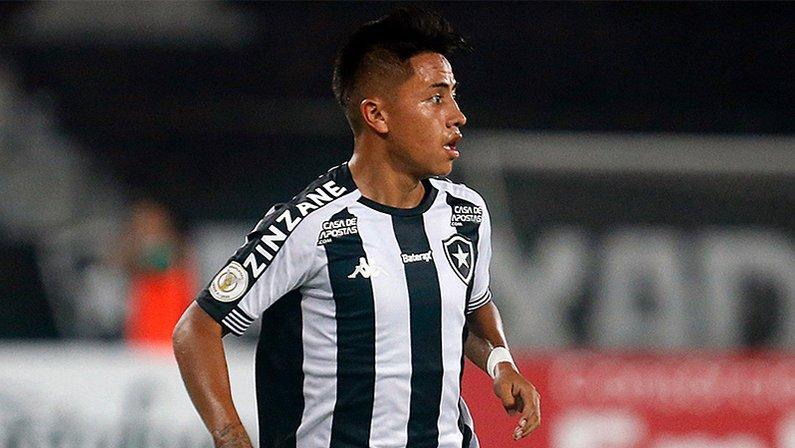 Alexander Lecaros em Botafogo x Cuiabá | Copa do Brasil 2020
