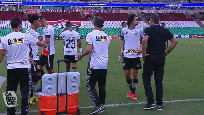 Marcelo Chamusca em Fluminense x Botafogo   Campeonato Carioca 2021