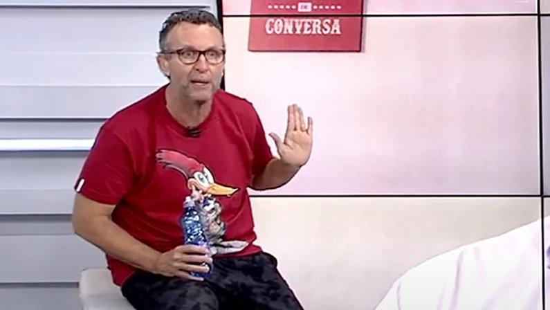 Neto, ídolo do Corinthians, apresentador do Baita Amigos, fala sobre história do Botafogo