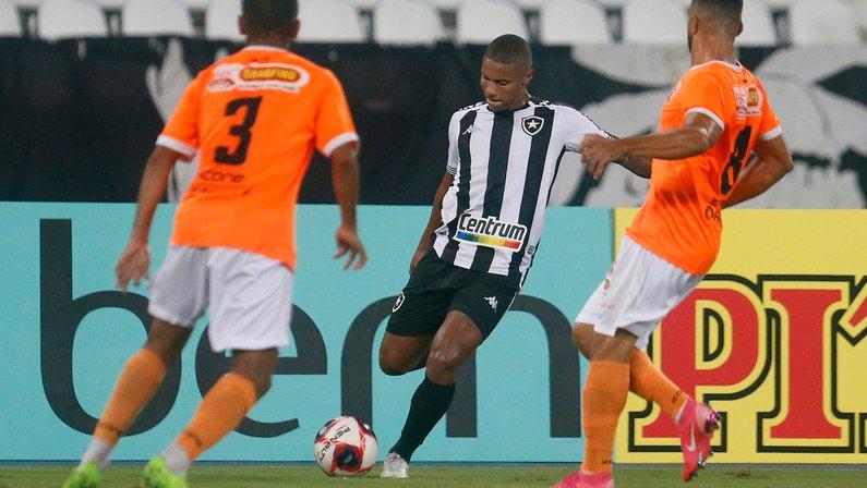 Rickson - Botafogo x Nova Iguaçu