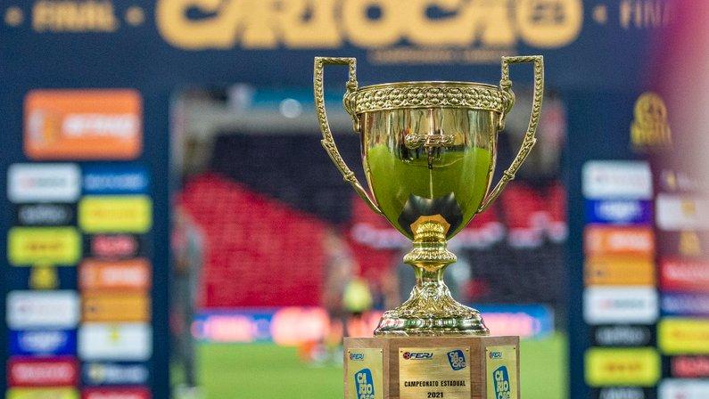Troféu do Campeonato Carioca - Flamengo x Fluminense