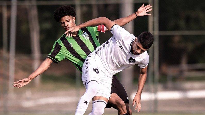 América-MG x Botafogo - Campeonato Brasileiro Sub-17