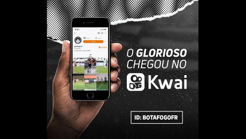 Botafogo chega à rede social Kwai