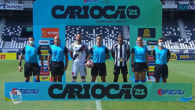 Kanu - Botafogo x Vasco