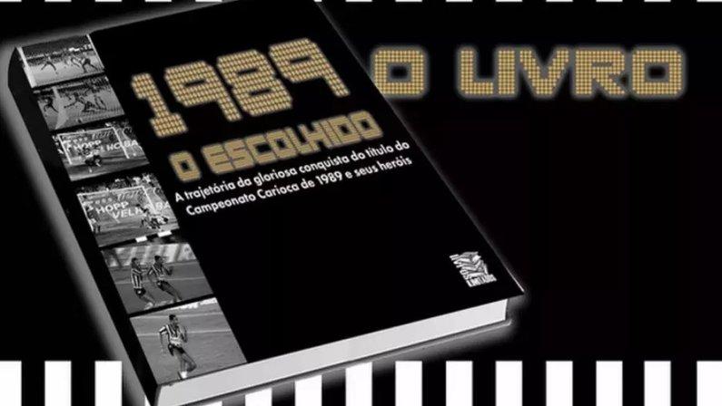 Livro do título carioca de 1989 do Botafogo