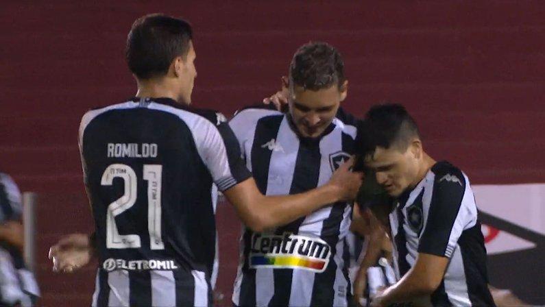 Rafael Navarro em Vila Nova x Botafogo | Série B do Campeonato Brasileiro 2021