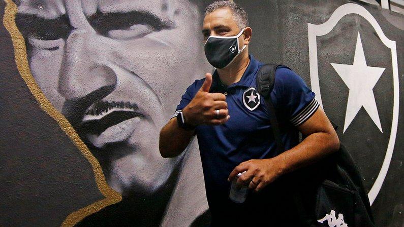 Marcelo Chamusca - Botafogo x Coritiba - Série B
