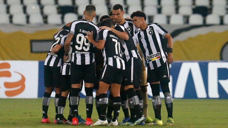 Elenco - Botafogo x Coritiba