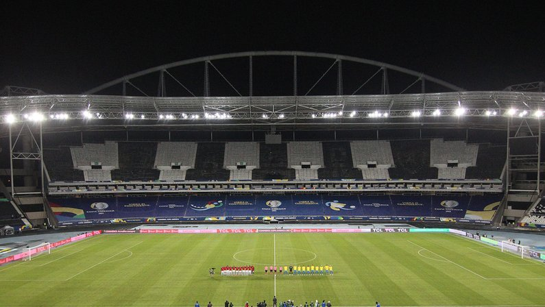 Estádio Nilton Santos, do Botafogo, na Copa América 2021