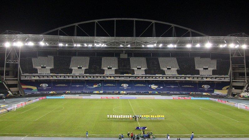 Brasil x Peru marca despedida do Nilton Santos, estádio com gramado mais criticado da Copa América