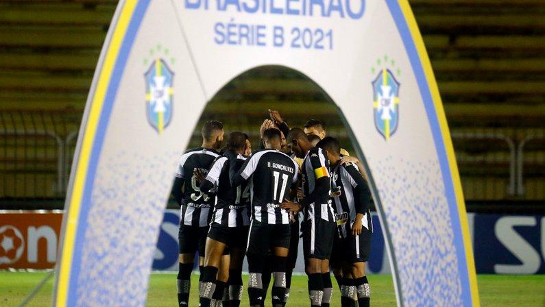 Elenco - Botafogo x Vitória - Série B