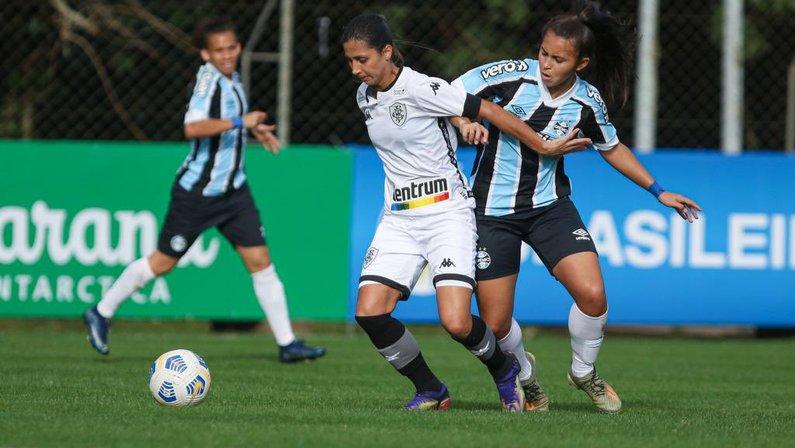 Botafogo x Grêmio pelo Campeonato Brasileiro Feminino