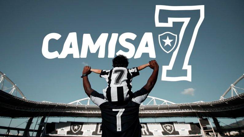 Camisa 7, novo plano de sócio-torcedor do Botafogo