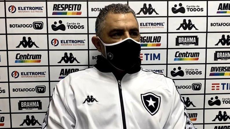Marcelo Chamusca - Botafogo x Vitória
