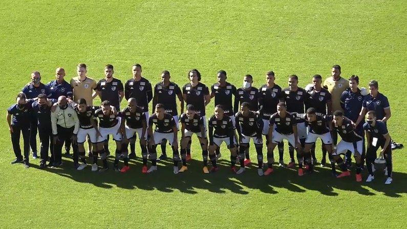 Elenco - Coritiba x Botafogo - Final Copa do Brasil Sub-20