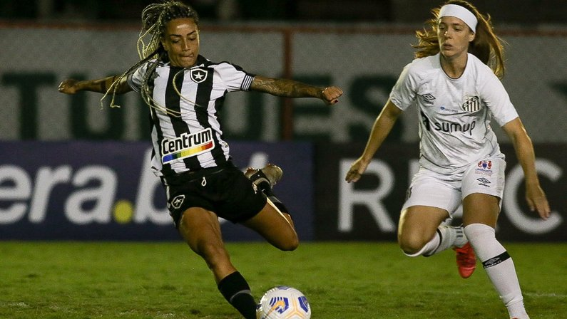 Botafogo x Santos - Campeonato Brasileiro Feminino