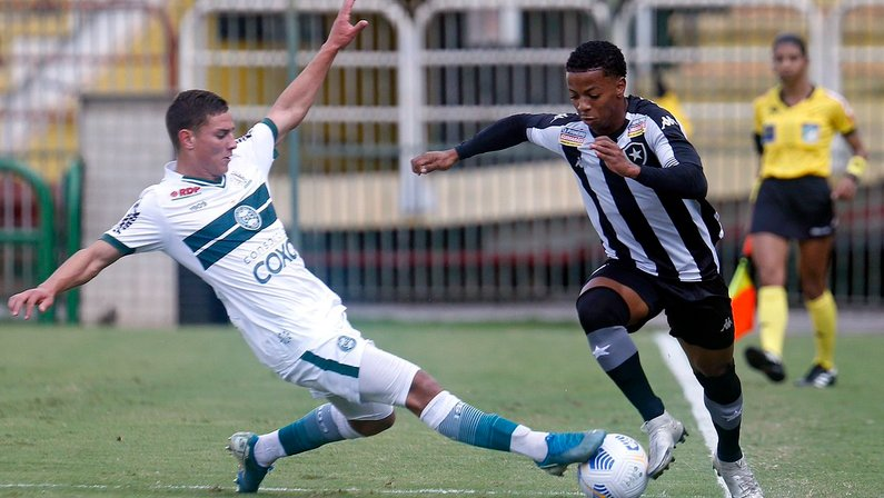 Ênio - Botafogo x Coritiba - Copa do Brasil Sub-20