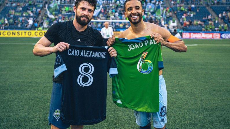 João Paulo e Caio Alexandre, ex-Botafogo