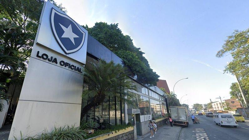 Loja oficial do Botafogo em General Severiano