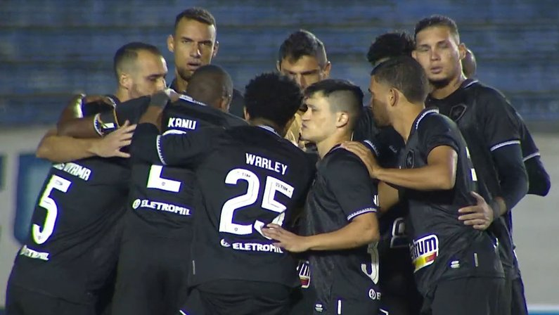 Elenco - Londrina x Botafogo