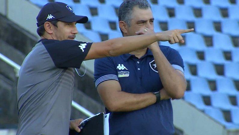 Lucio Flavio e Marcelo Chamusca - Sampaio Corrêa x Botafogo
