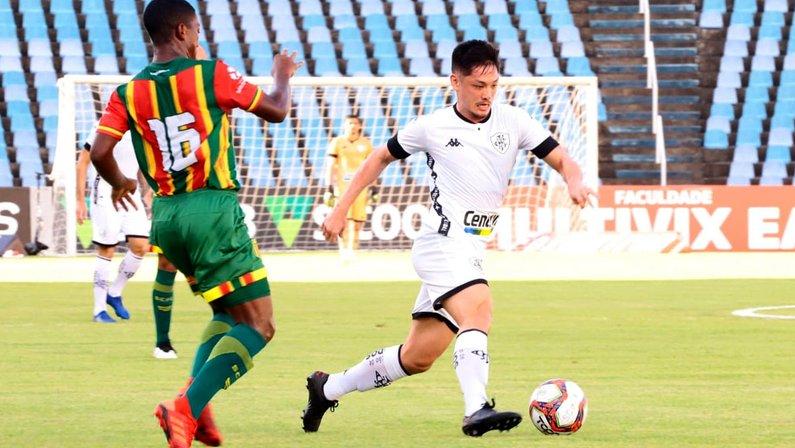 Luís Oyama - Sampaio Corrêa x Botafogo