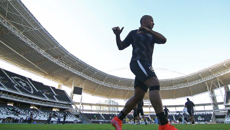 Botafogo: Guilherme Santos volta a ser relacionado e deve ser titular contra o Confiança
