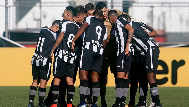 Elenco - Flamengo x Botafogo - Campeonato Brasileiro Sub-20