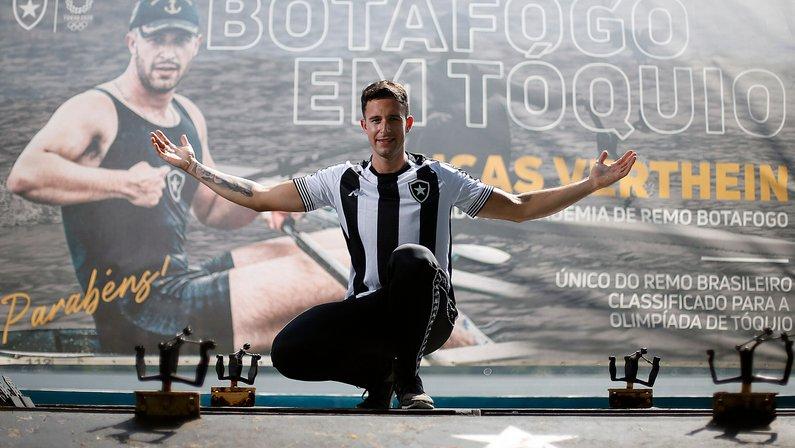 Botafogo tem um representante nos Jogos Olímpicos; em 2016 foram sete