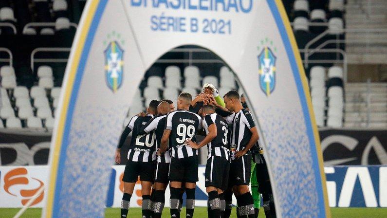 Elenco - Botafogo x Vasco