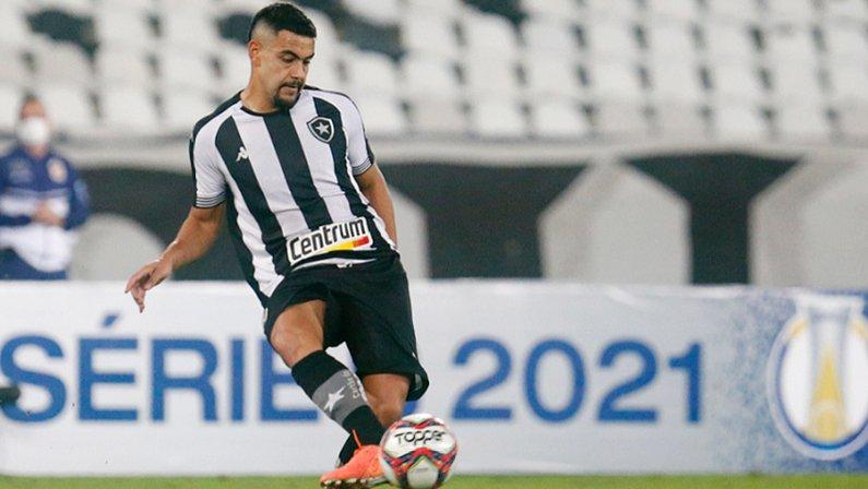 Barreto em Botafogo x Goiás | Série B do Campeonato Brasileiro 2021