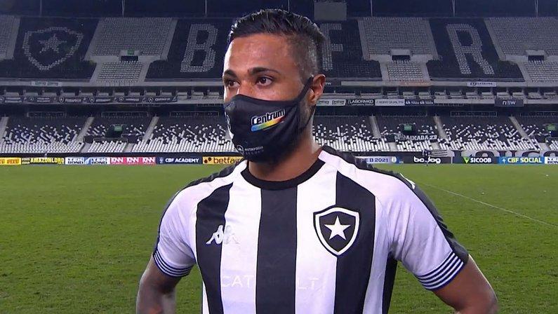 Diego Gonçalves em Botafogo x CSA | Série B do Campeonato Brasileiro 2021