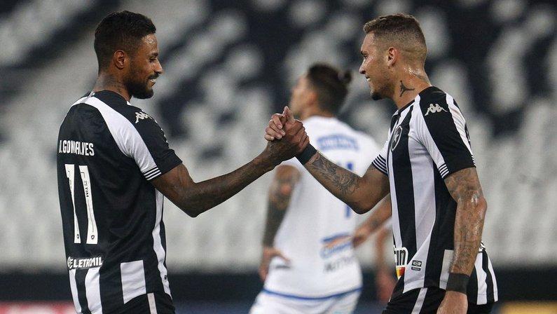 Diego Gonçalves e Rafael Navarro - Botafogo x CSA