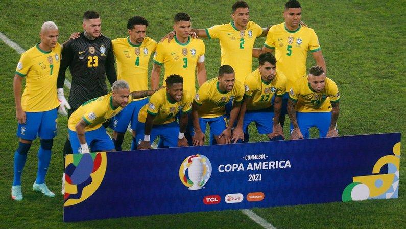 Brasil x Peru - Semifinal da Copa América