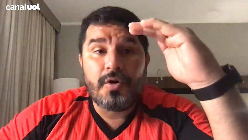 Eduardo Barroca, do Atlético-GO, recorda passagem pelo Botafogo