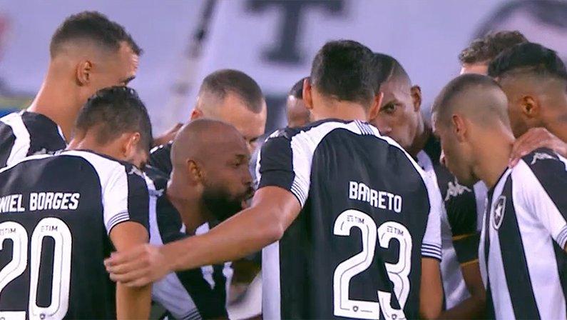 Elenco (jogadores) em Botafogo x Cruzeiro   Série B do Campeonato Brasileiro