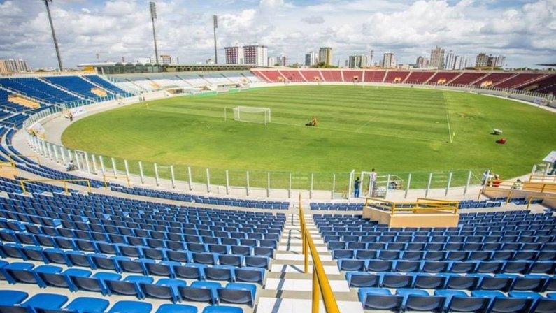 Estádio Lourival Batista (Batistão), palco de Confiança x Botafogo